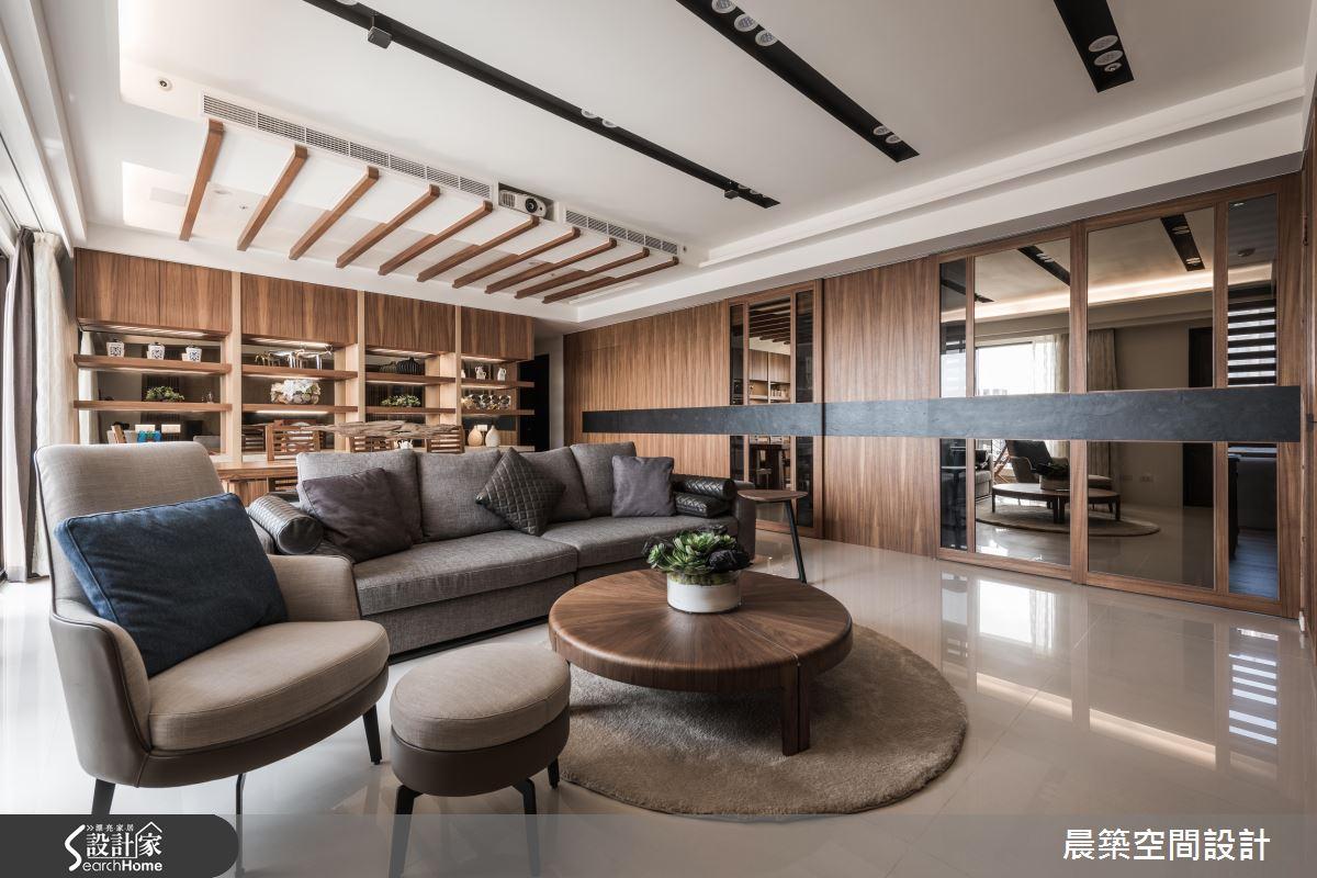 築起一片悠閒好風景 就在 48 坪日系現代退休宅