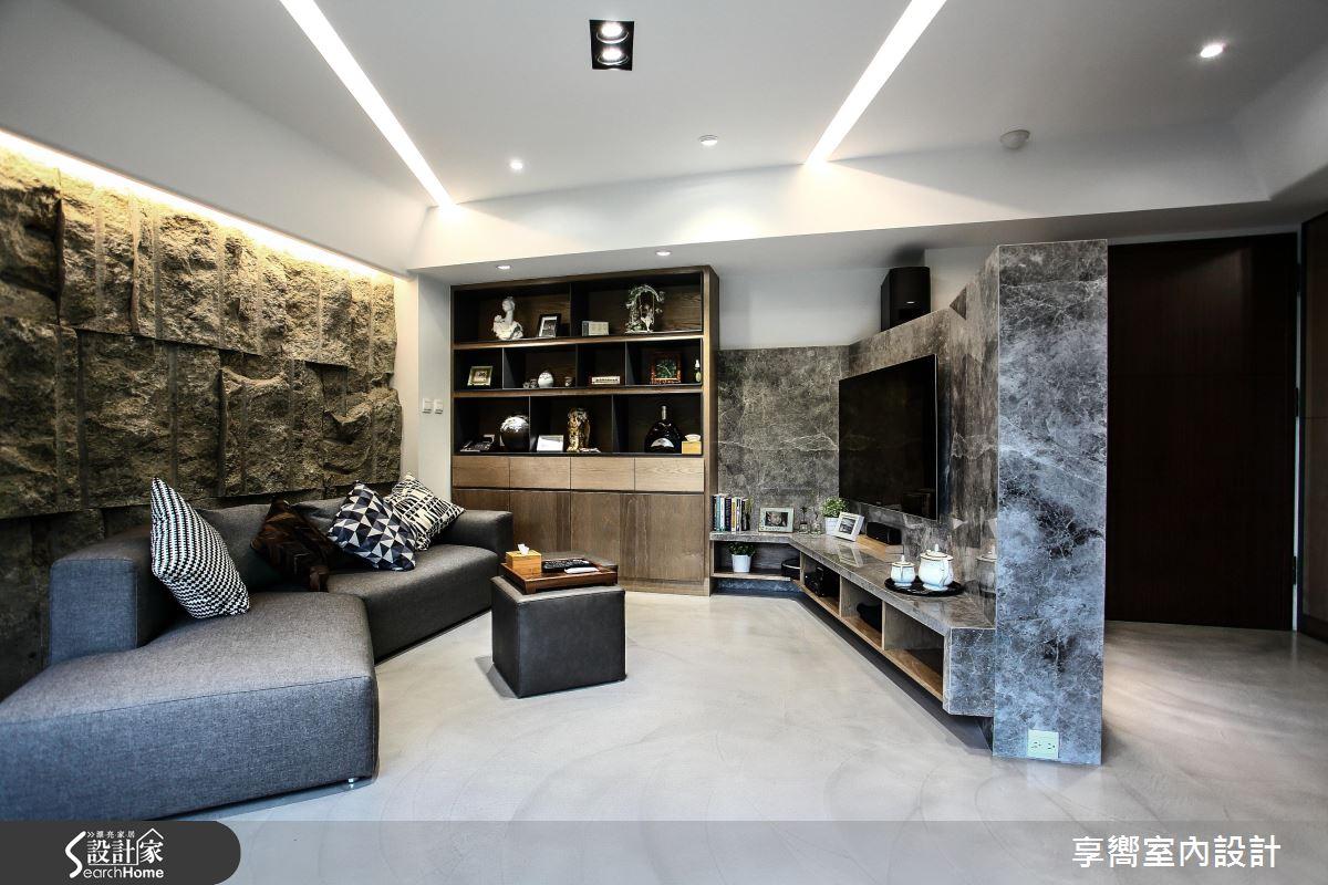 單身小豪宅基本款! 令人「石」在驚豔的現代風居家