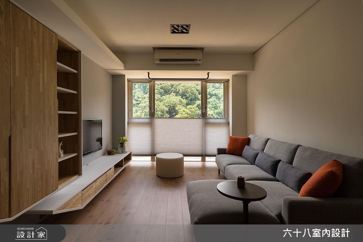 室內木質調、戶外有綠意!27坪中古屋的自然好氣色