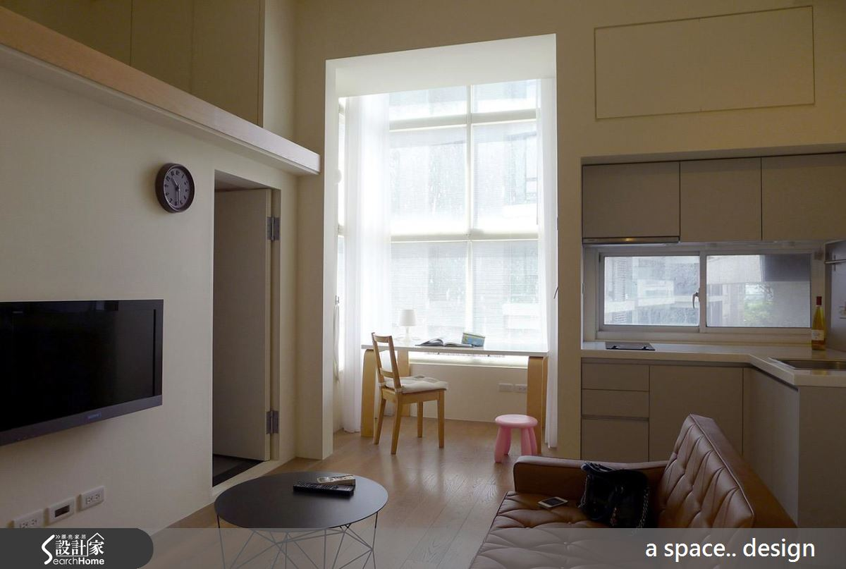 最愛溫暖簡約感! 舒適滿分的 12 坪木質夾層小窩