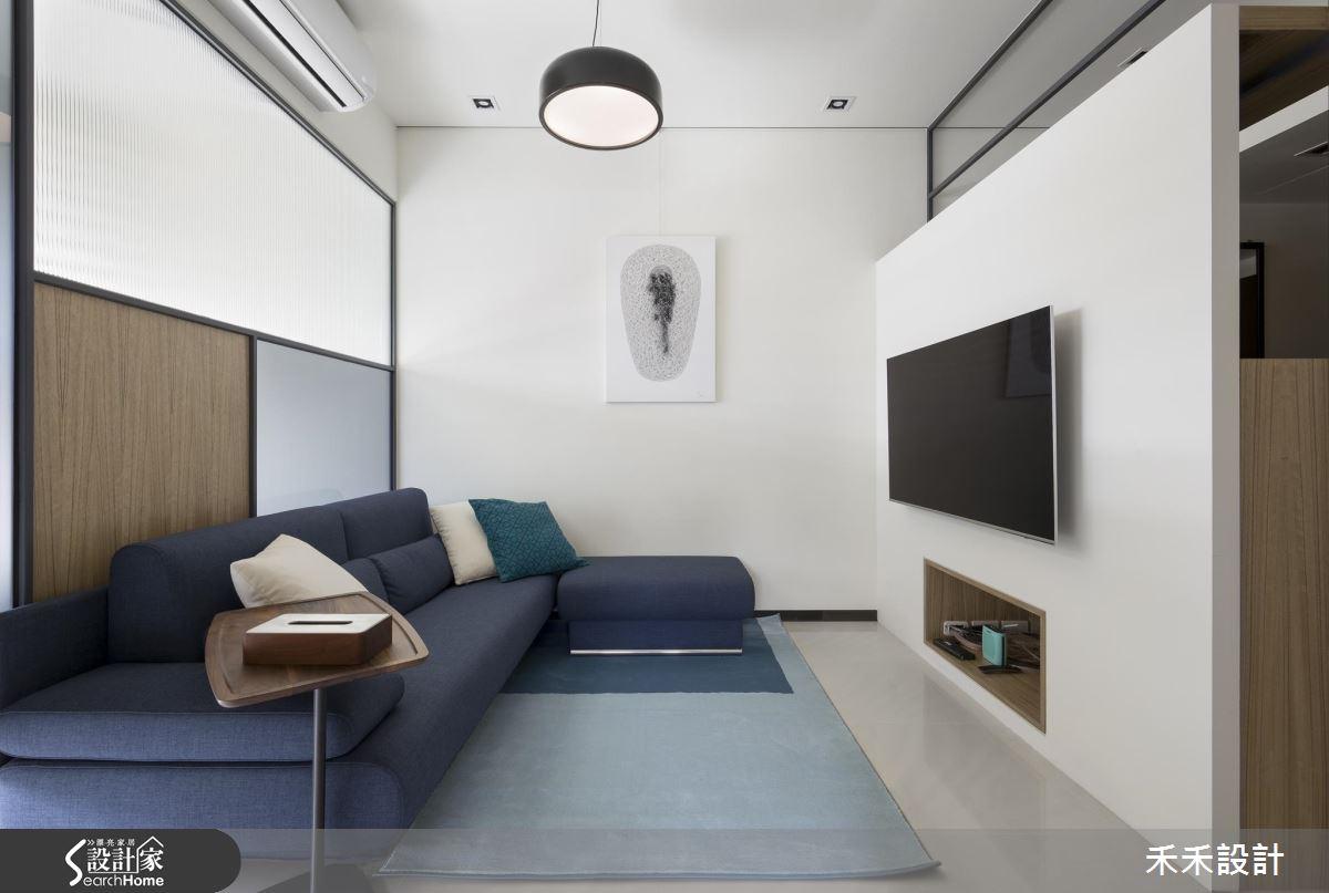 25 坪強效運用!光線度、空間感、收納機能的極致設計