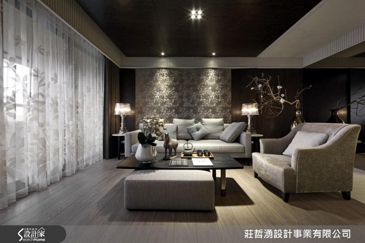 異材質 x 圖騰的精妙演出! 簡約時尚東方風人文宅邸