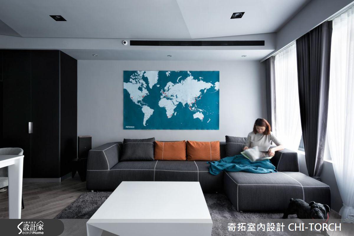 重現記憶中的一抹藍! 在四樓公寓一起遨遊全世界