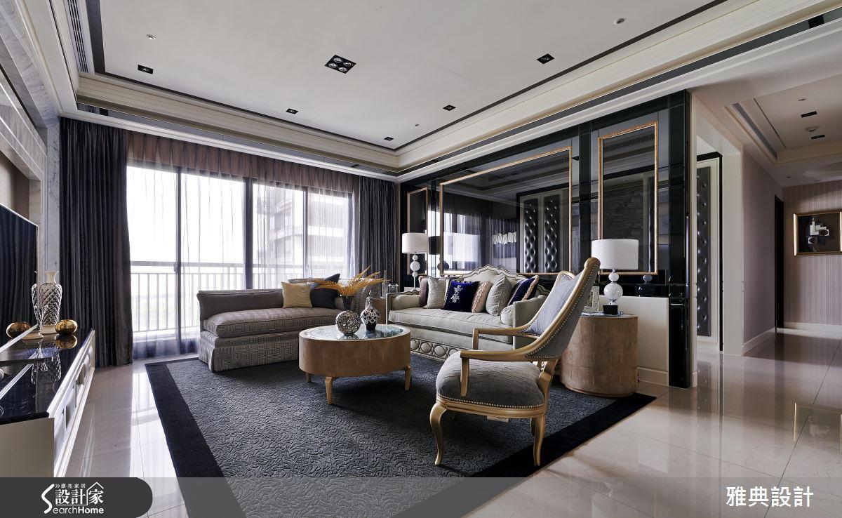季節限定超閃奢華風!席捲時尚的 71 坪精品豪宅