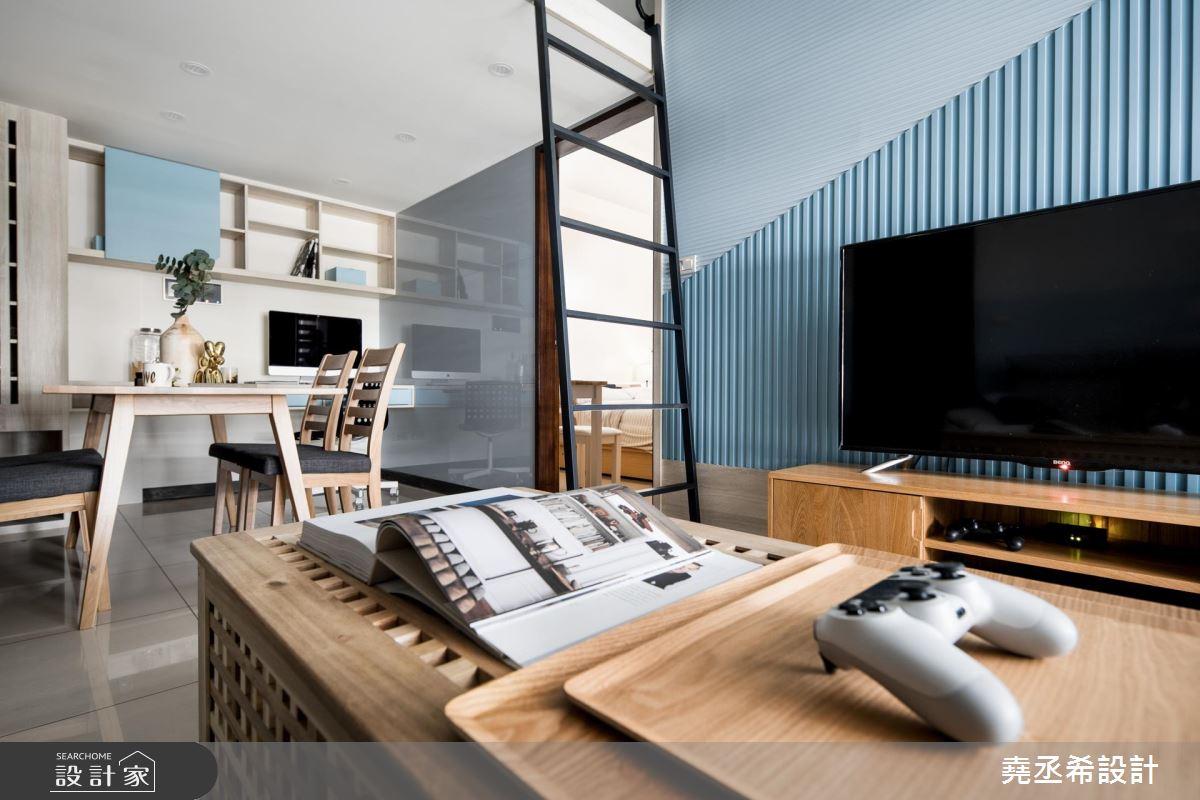 中古屋整修百萬方案!小資夫妻適用的北歐風夾層新婚宅