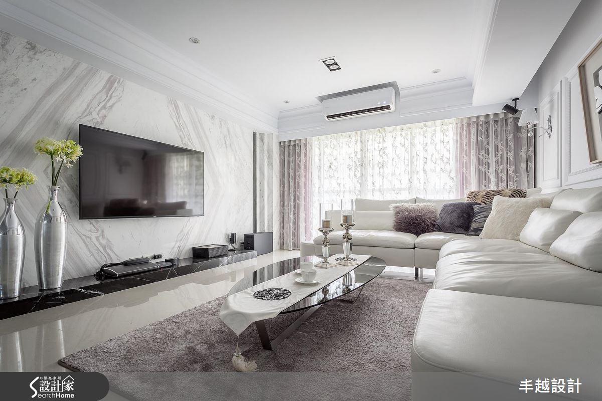 美、透、白!名媛級血統的 30 坪新古典居宅