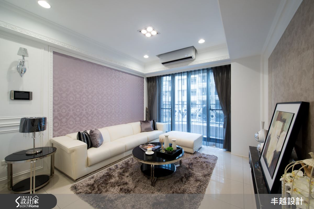 小家庭適用的微奢華!材質、家具打造新古典理想之居