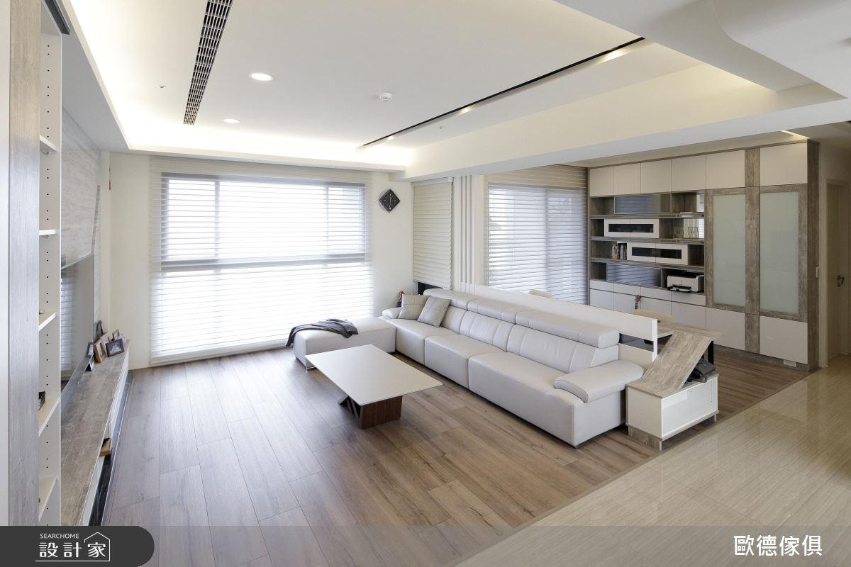 三度合作的好感情設計!系統家具打造 50 坪暖心大宅