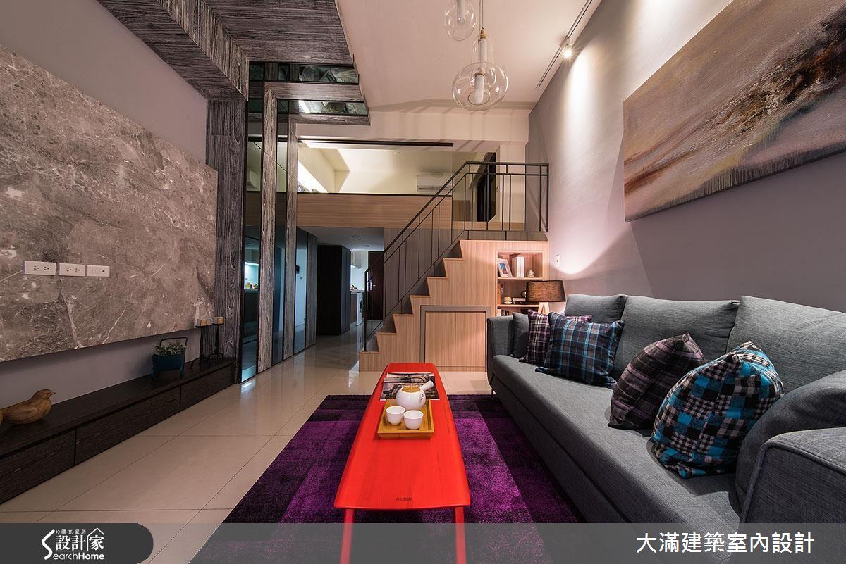 挑高、開闊、大器盡在16 坪!預算不到百萬的現代風小豪宅