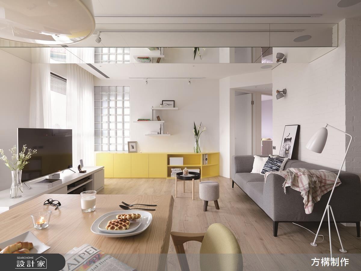 一個人住超陽光的家!清新感十足的 23.5 坪北歐風單身宅