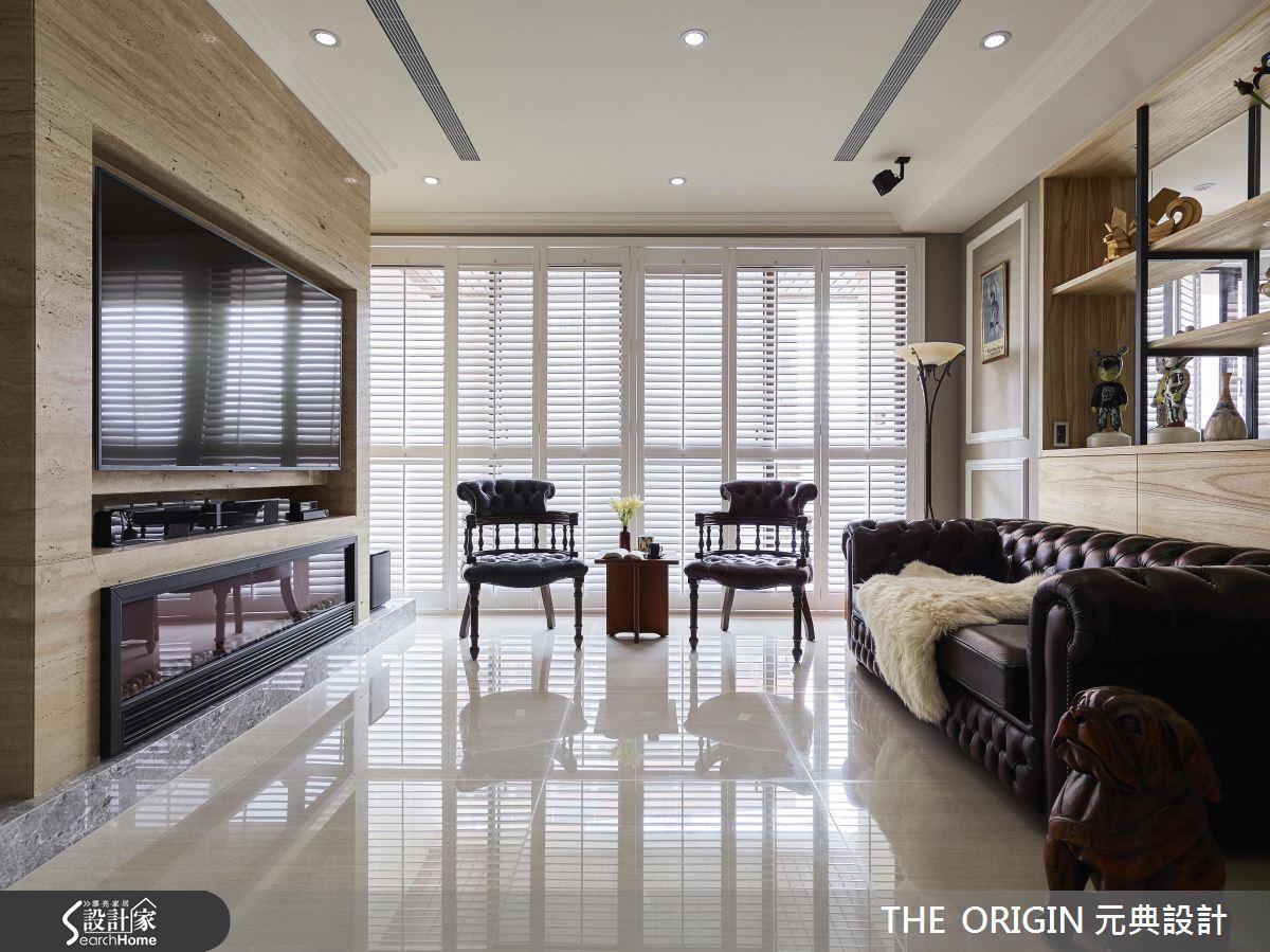 光感大綻放! 用 40 坪明亮美式宅 收藏我們的全世界!
