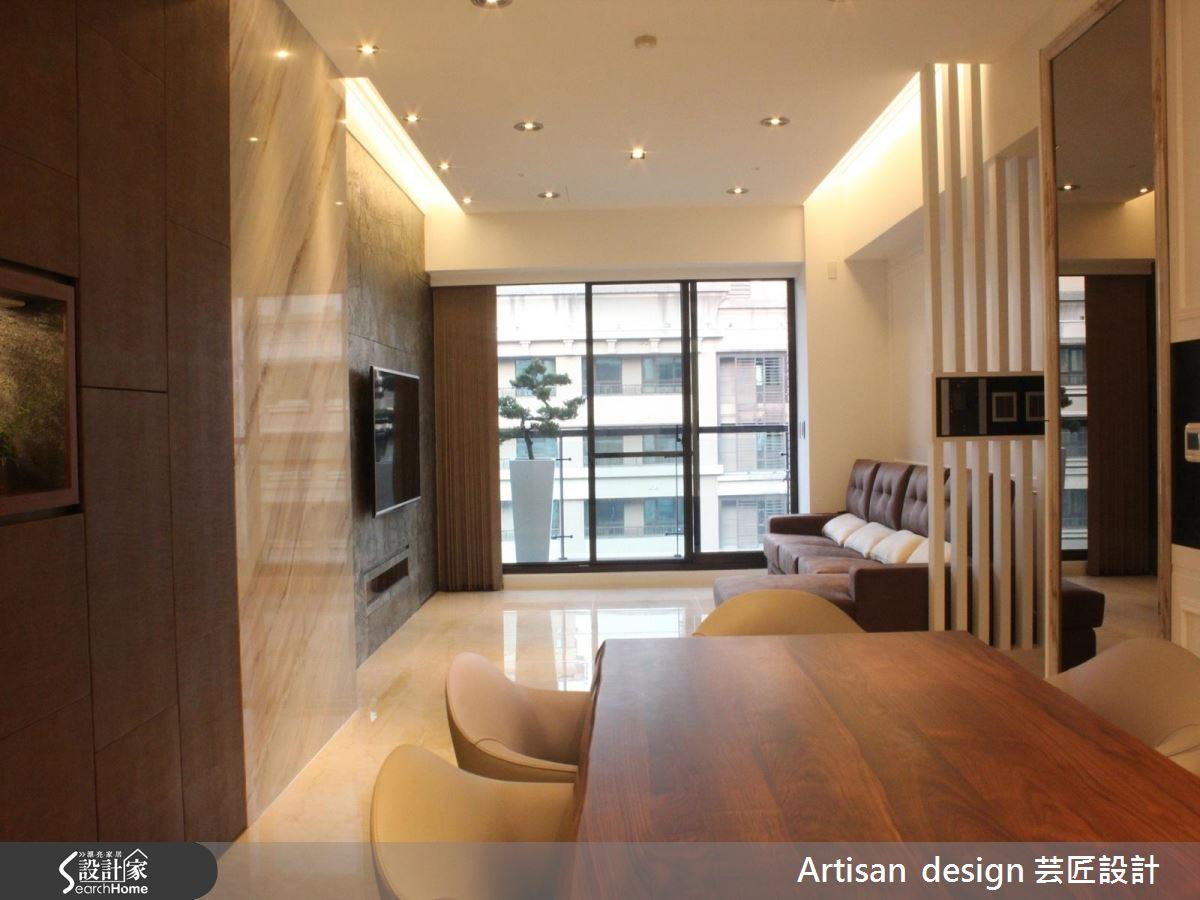 45坪時尚現代宅 體會奢華之中的自然與暖心