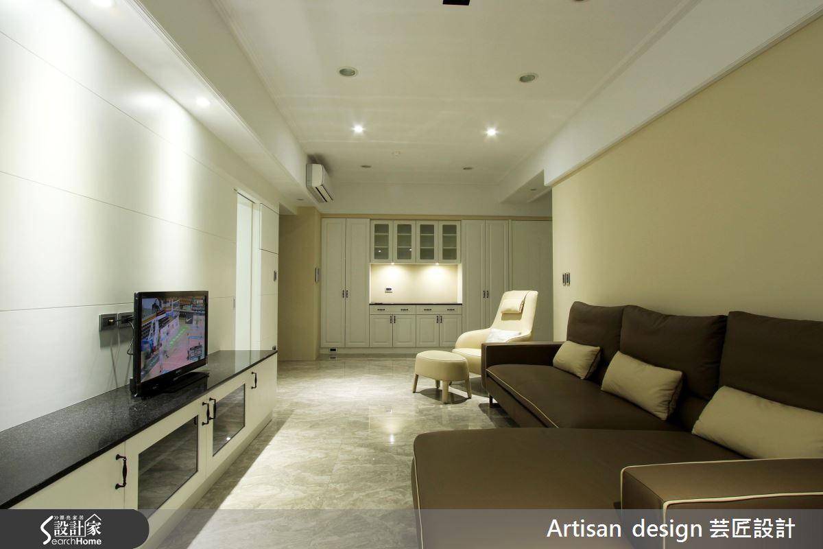 25坪純粹簡單空間 留給家的100種想像