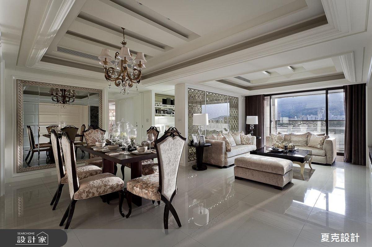 媲美星級飯店的頂級享受!奢華新古典風的 60 坪絕美演繹