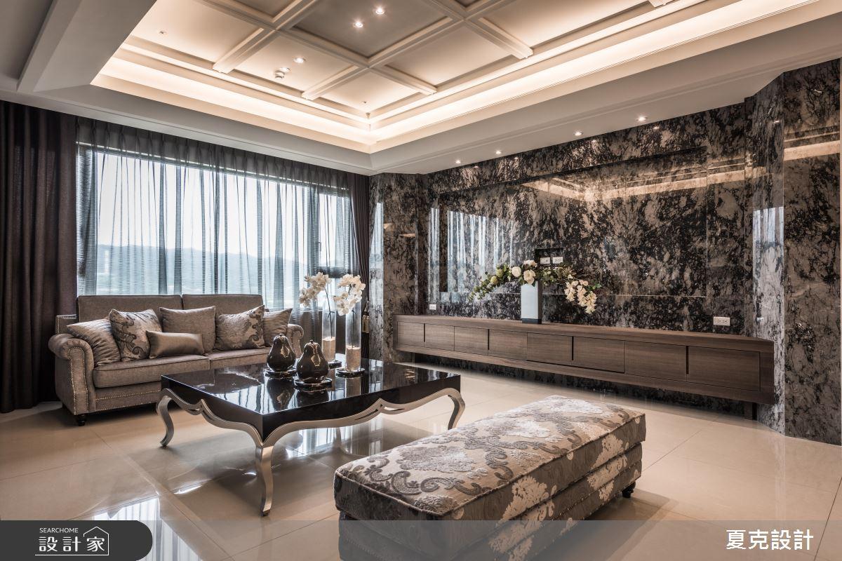 不同凡響的百坪氣派大宅!新古典風的美學詮釋