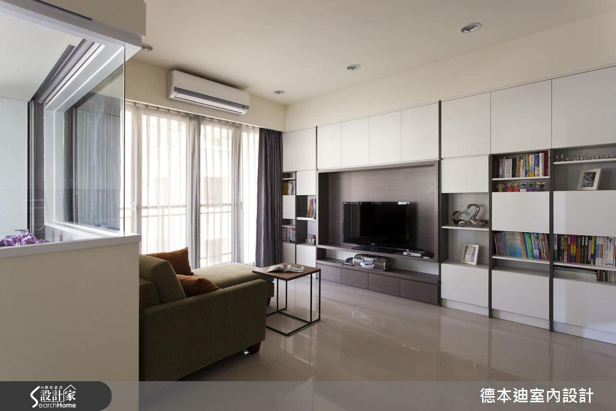 17 坪現代風好機能單身宅!景觀衛浴、廚房吧檯都包辦