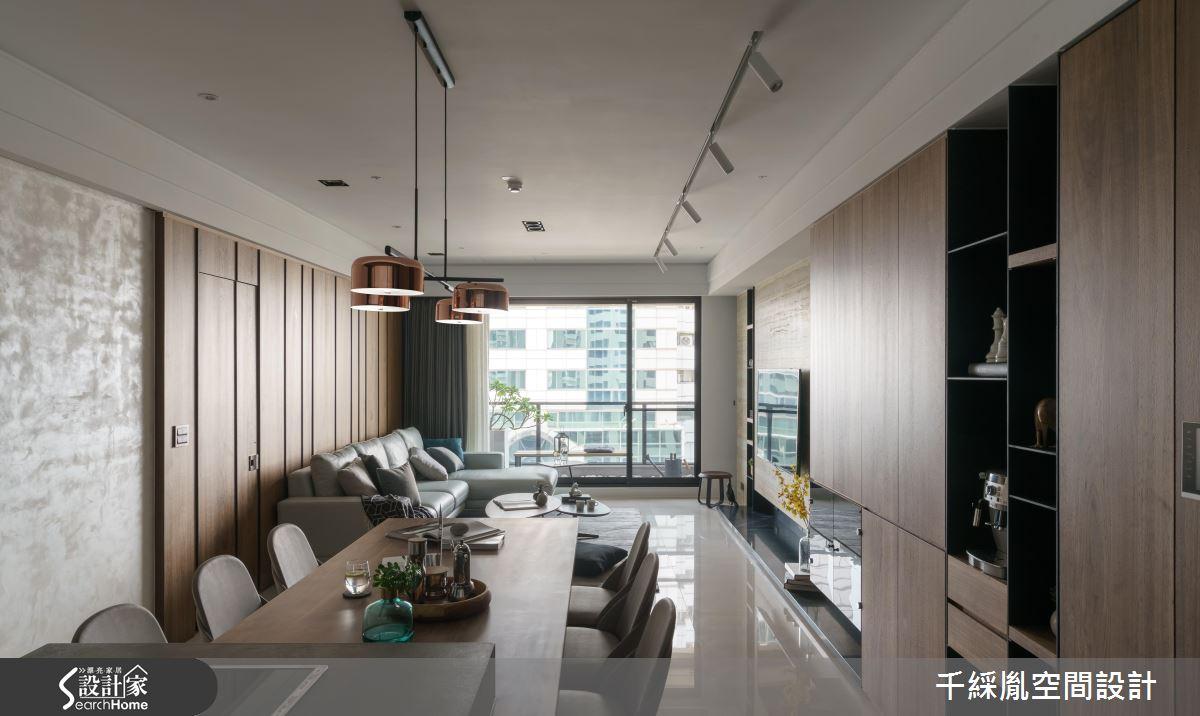就要舒適好收納! 42 坪現代宅的究極收納規劃術