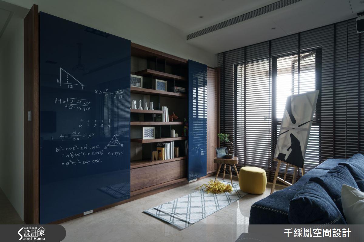 用創新溫柔顛覆傳統!醫生的 43 坪寶藍個性混搭宅