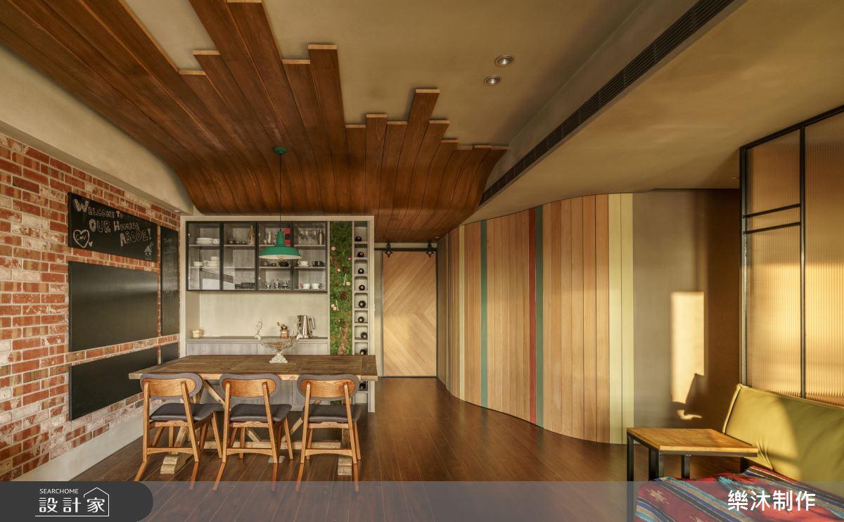 這個家美得不像樣!紅磚 x 綠意 x 木質調的北歐風好宅