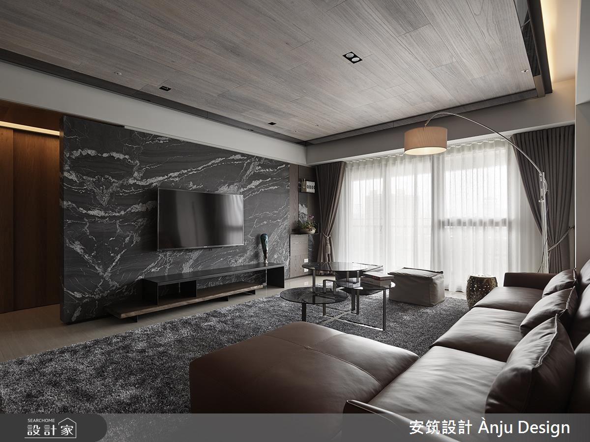 溫潤木質 X 石材肌理 刻劃夢想住宅的時尚風範