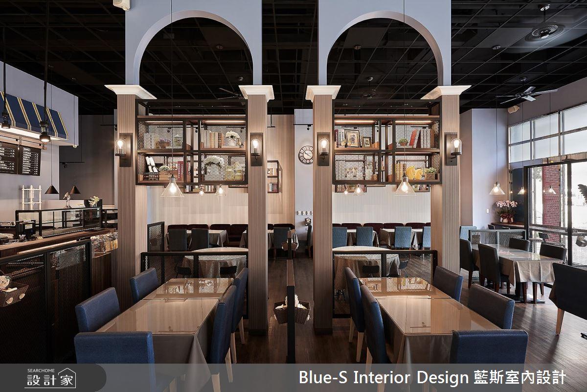 東方味蕾、搭配著優雅歐風佐味! 60 坪精緻法式工業風餐廳