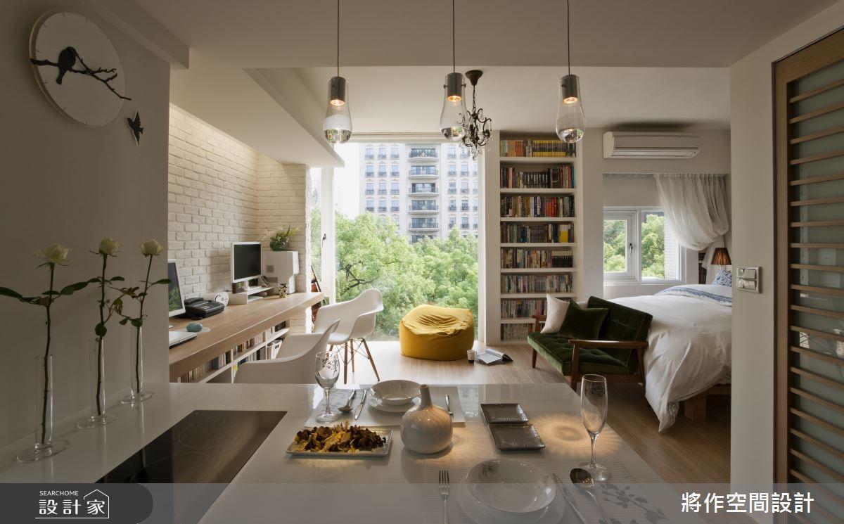 發揮小宅最強潛力!充滿書香、舒適綠意的 12 坪陽光小豪宅