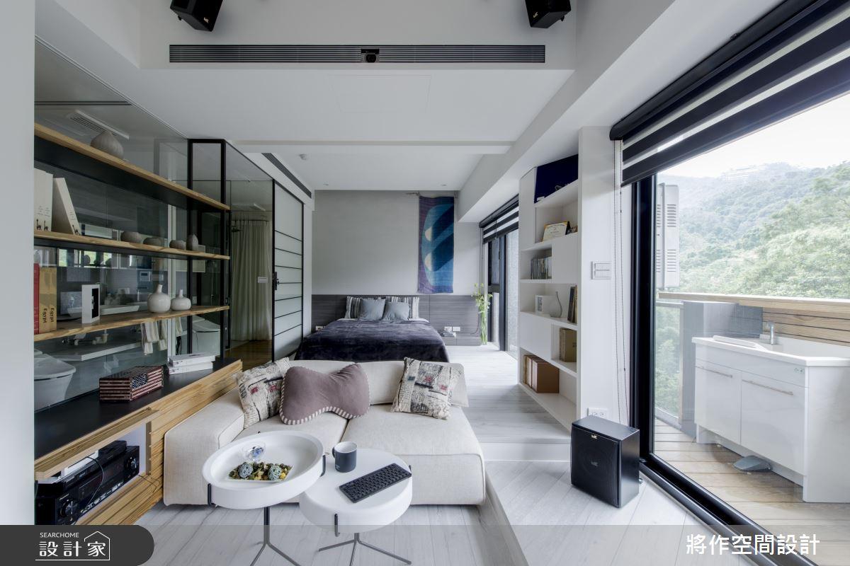 3廳 1房、景觀無限!超靈活的13 坪休閒風收納小家
