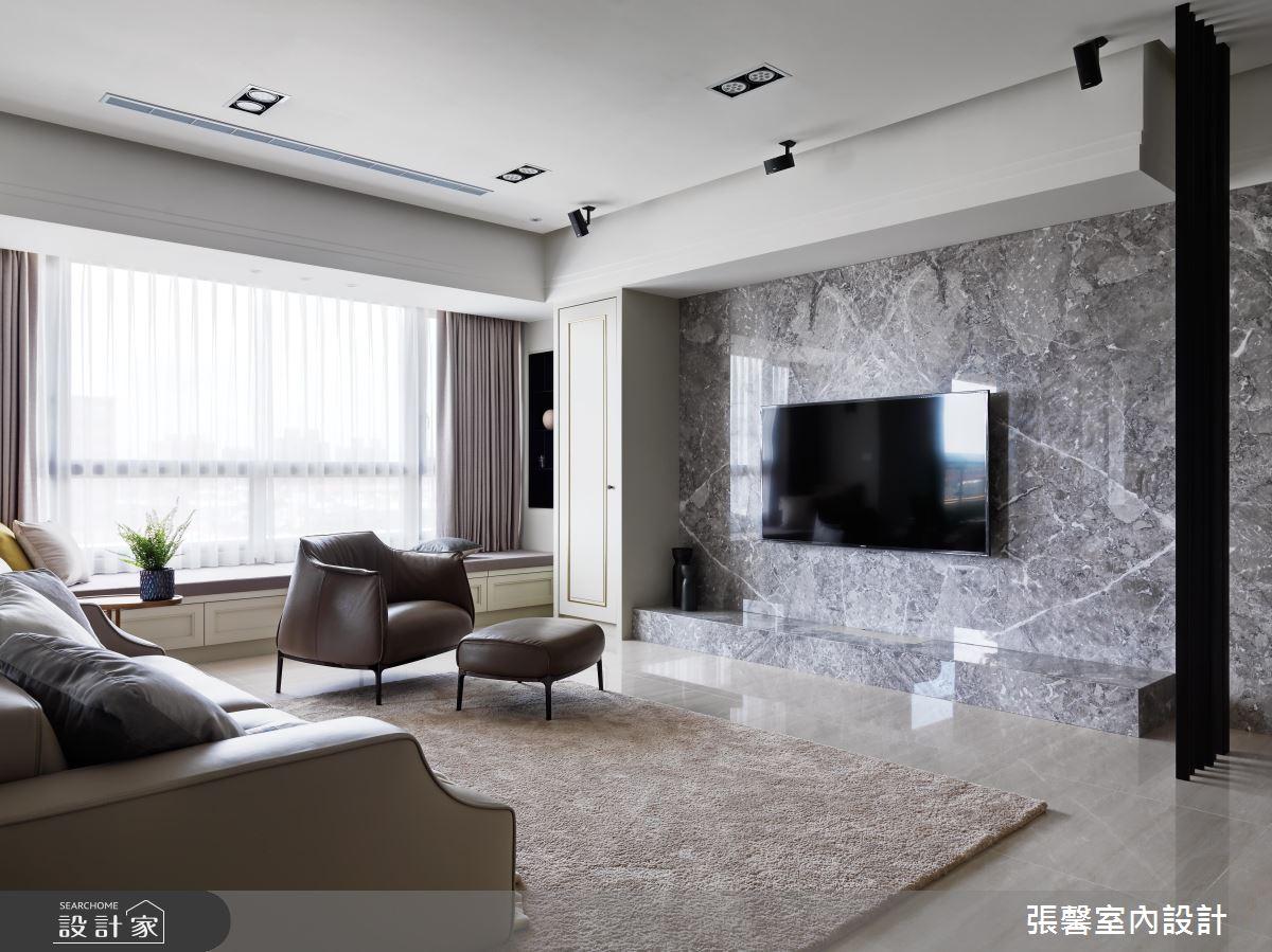 剛柔並濟的美學演繹 60坪現代風私宅擄獲你心