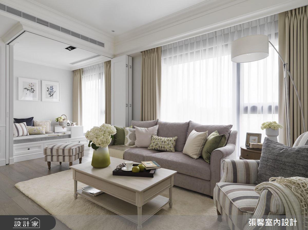 家也能擁有白淨透亮! 日光遇見美式風的療癒退休宅