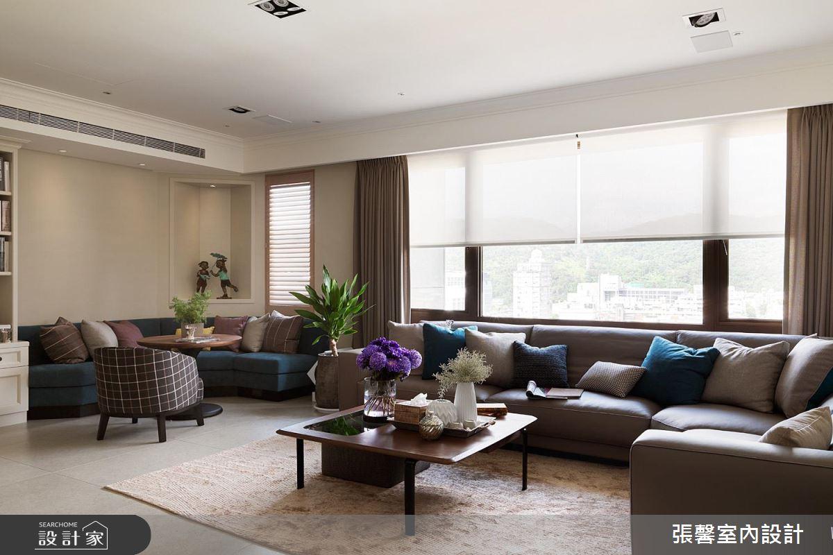 當現代遇上古典!看設計師打造無違和雙客廳設計!
