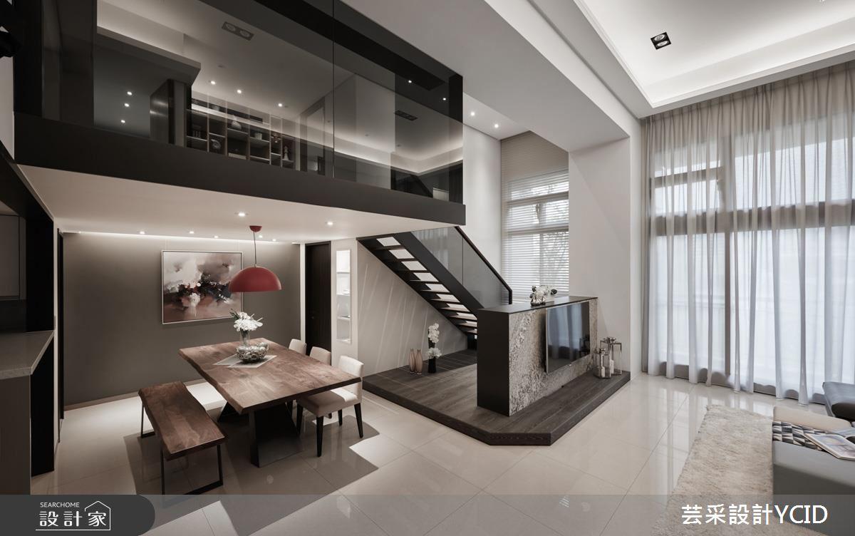 居家再增坪效!收納 x 採光都滿分的現代風樓中樓
