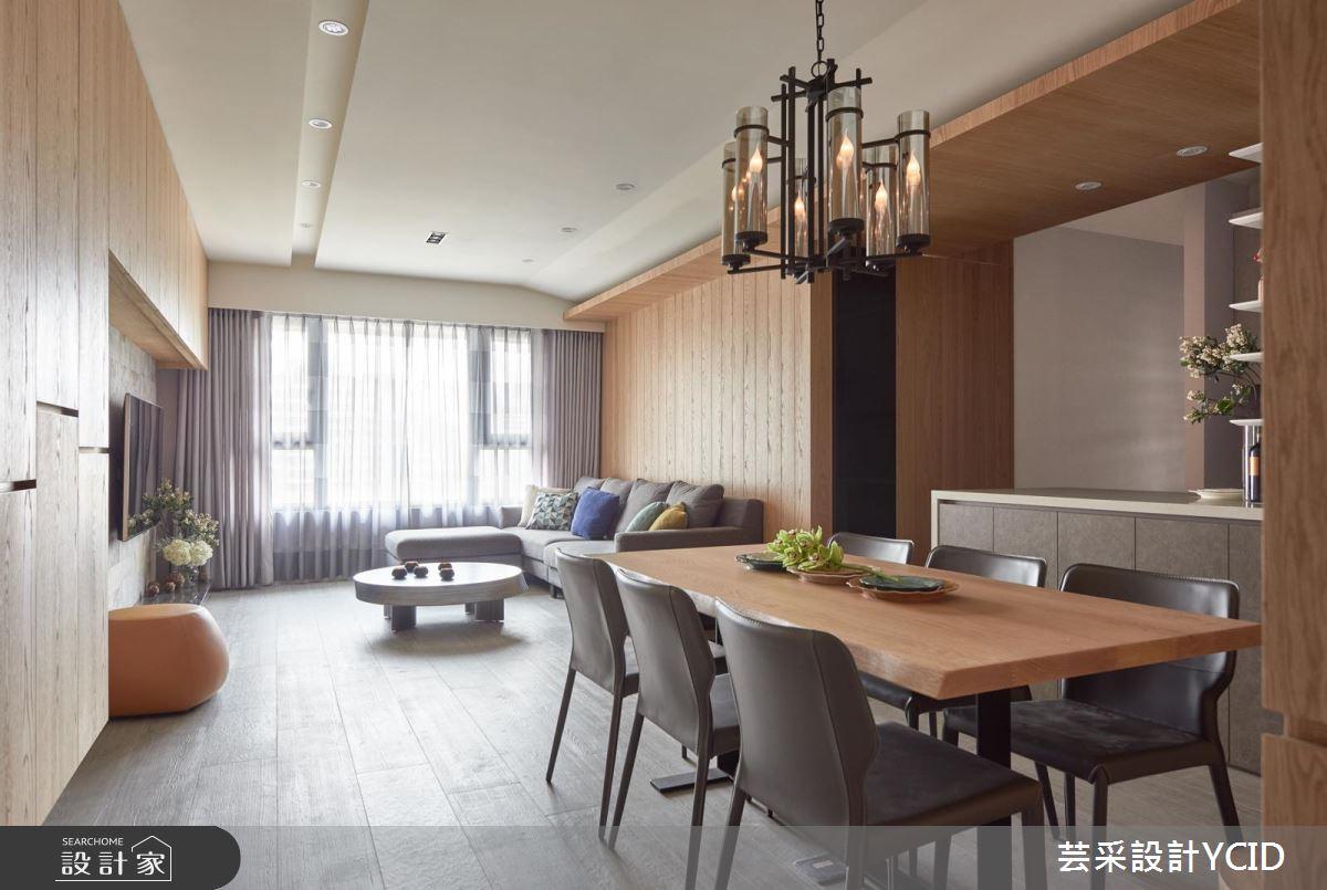 回家就是要放鬆!洋溢木質溫度的 45 坪現代休閒宅