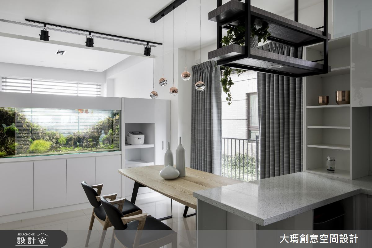 家也能透出白亮光采 超想住的簡約時尚舒心宅