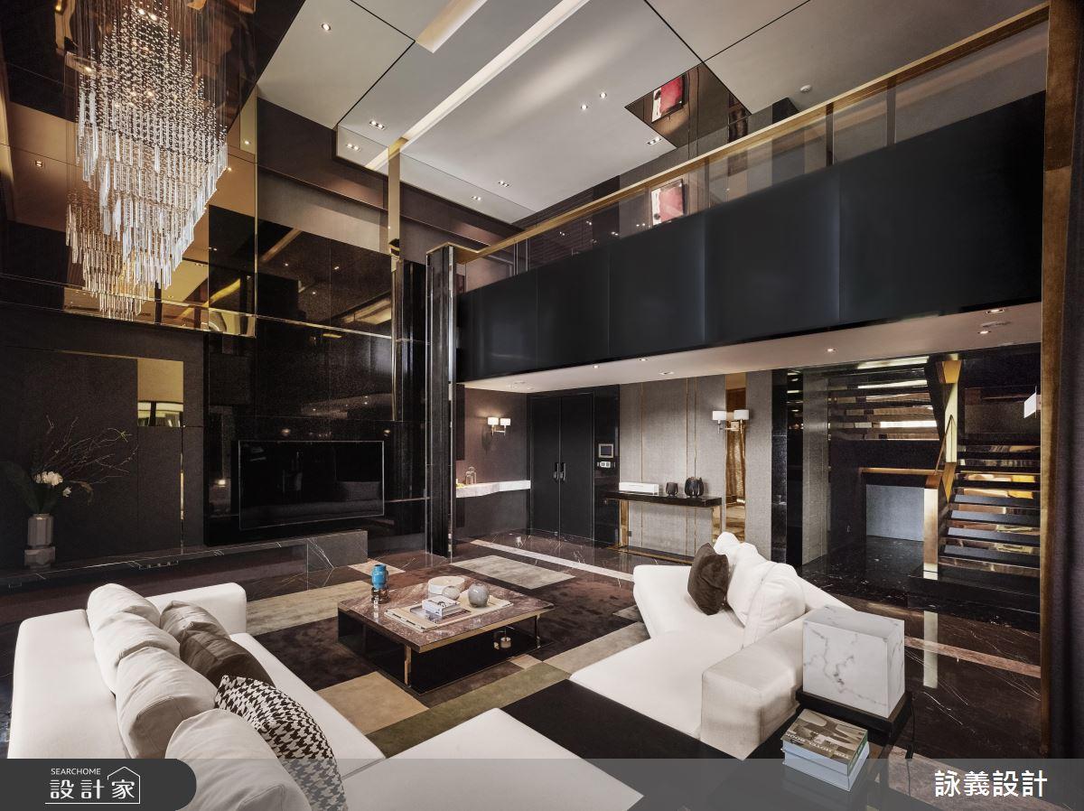華麗與抽象藝術交織!化身精美絕倫的 166 坪現代豪宅