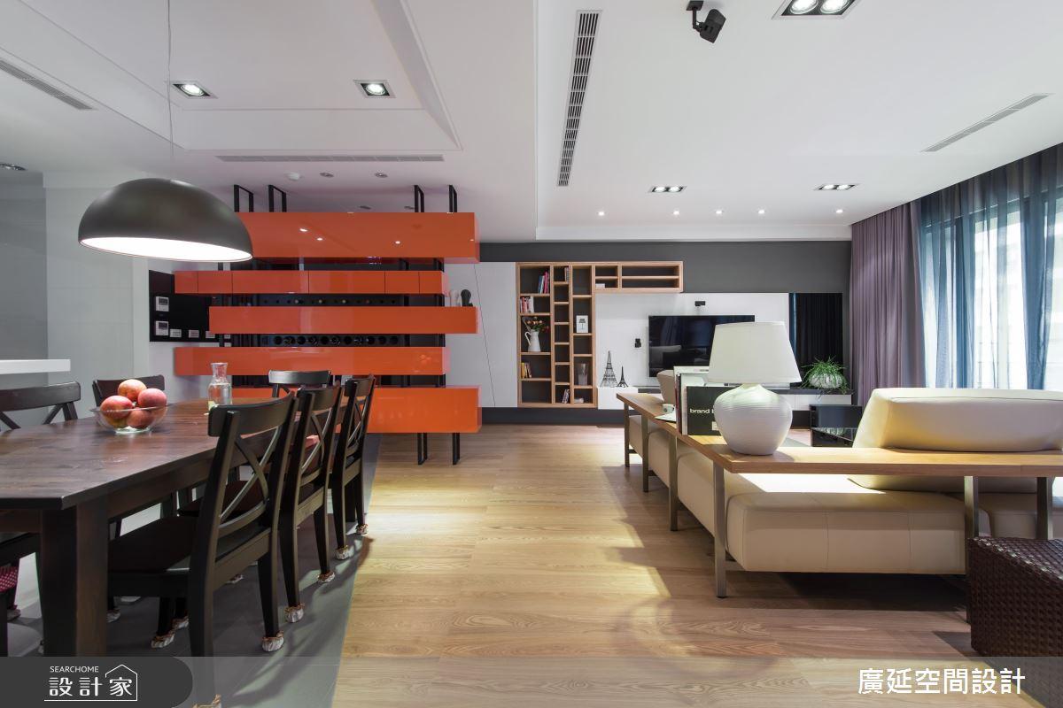 我家是人文精品書店! 開放格局+L型書牆+多功能沙發 交織書香氣息場域