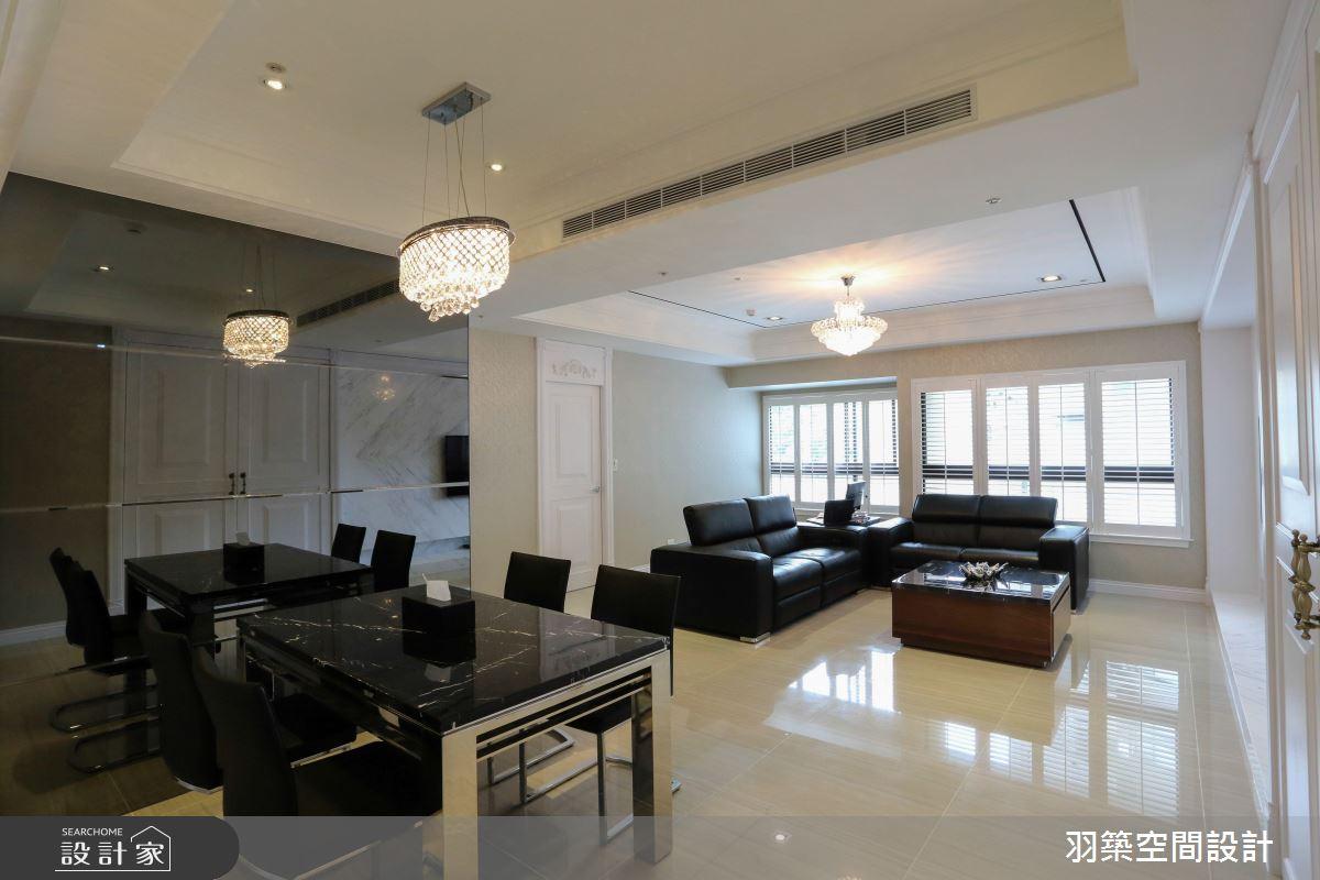 新古典風打造 27 坪 3 房 2 廳!集俐落、細膩、高雅於一身