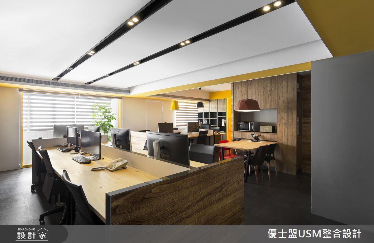 帶給屋主優質服務的關鍵!設計師的艷陽黃輕 Loft 辦公室