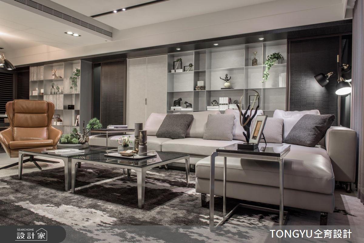 低彩度現代風空間 帶出 70 坪宅邸的紓壓氣息