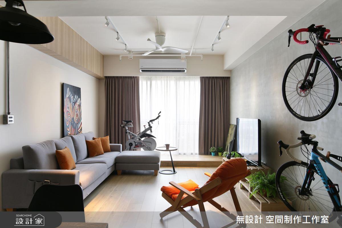 隱藏收納、開放展示的完美比例,就在27坪陽光美寓!