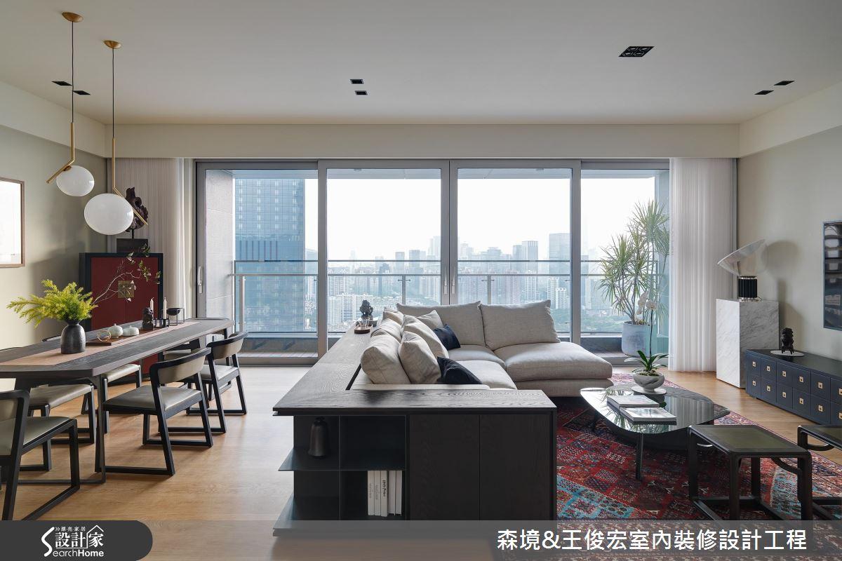 都會裡一片療癒淨土 72坪現代宅居來襲