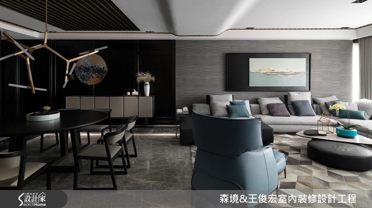 質感品味再進化! 精彩晉升 90 坪現代豪宅氣場