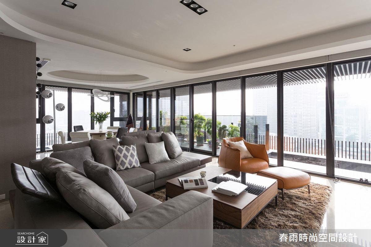 採光、景觀、空間感、機能性,都在55坪超實用現代風大宅
