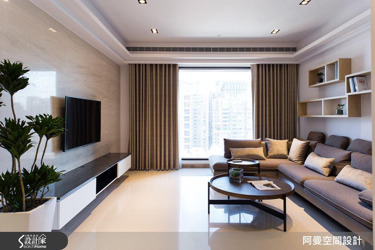 溫潤簡約! 舒適好住的 34 坪現代北歐宅