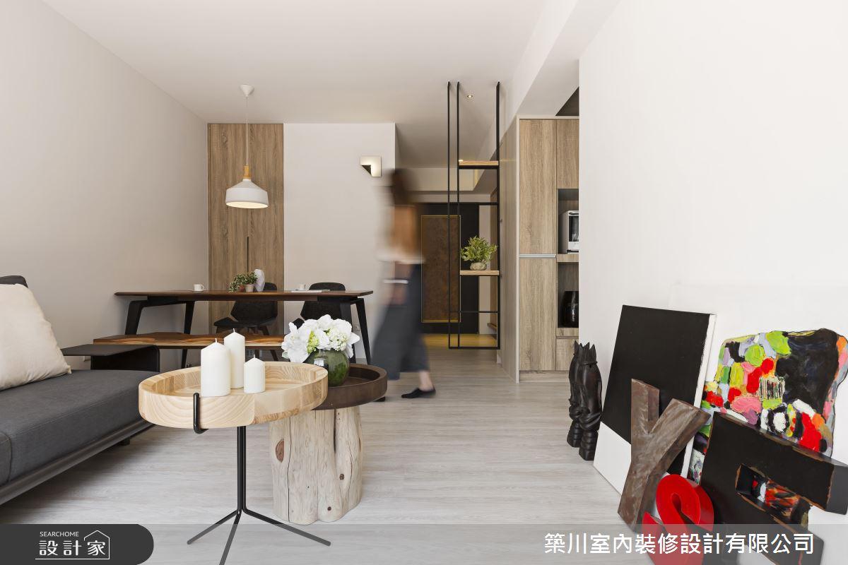 小而美的木質新婚宅!系統家具拯救 14 坪狹窄老屋