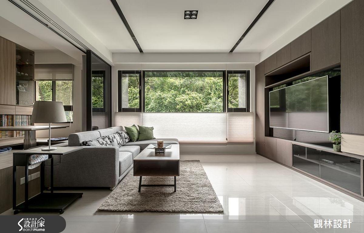 會呼吸的家!氣質 100 分的現代風景觀宅