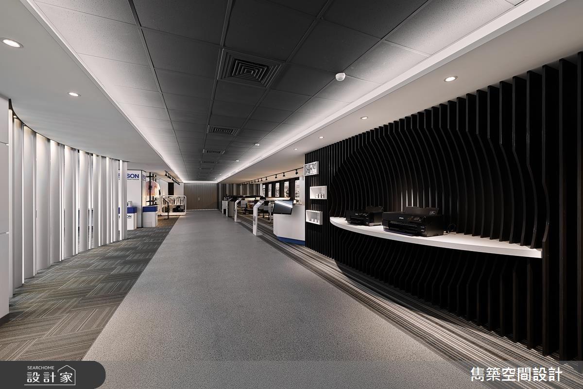帶你走進未來場景!現代風的科技迷幻迴廊