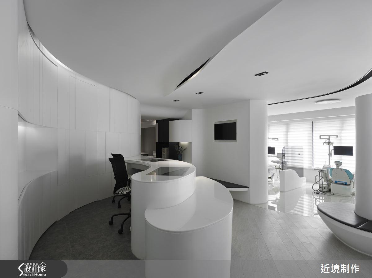 藝廊感牙醫教學中心 體現白色巨塔的優雅愉悅