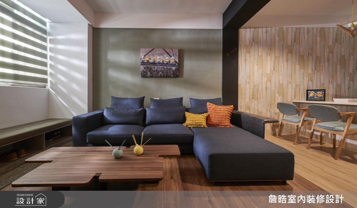 百萬以下老屋翻新!木紋暖調讓家充滿溫馨與趣味