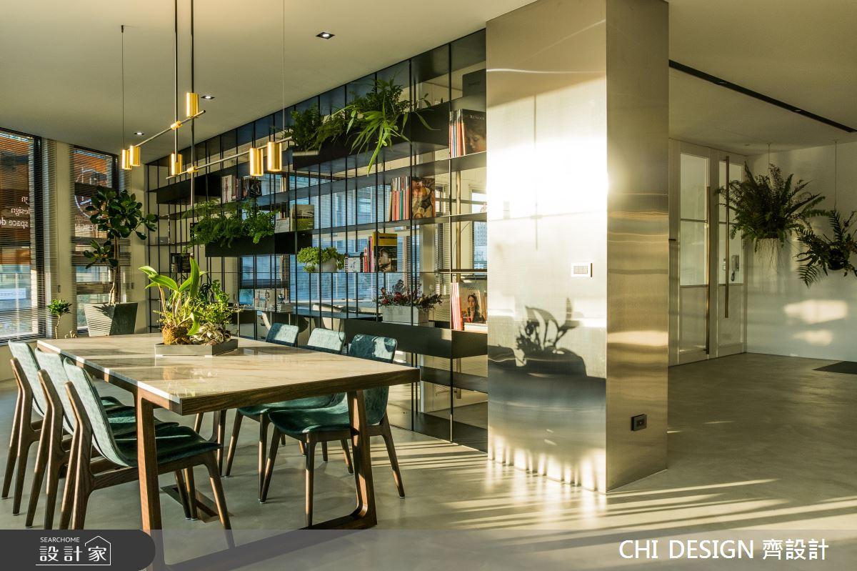 老屋再造生命力 綠意陽光打造現代前衛工作空間