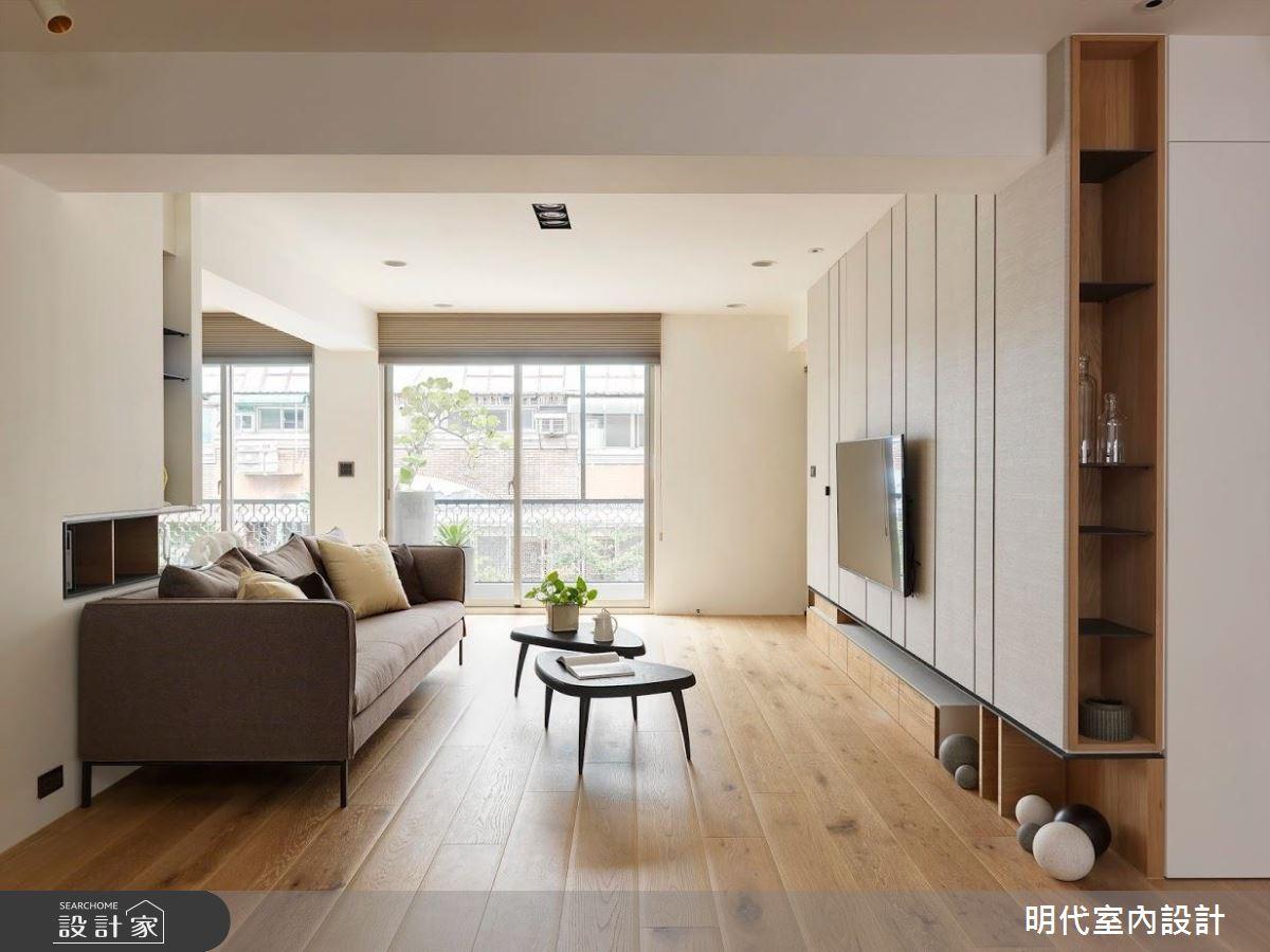 愛上陽光和溫潤木質感! 與自然共處的 30 坪現代風單身宅